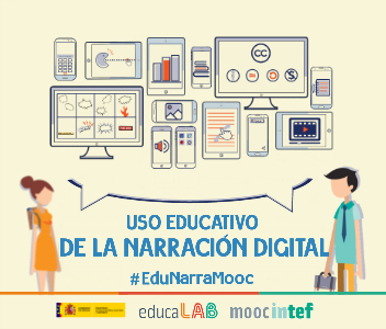 Uso Educativo de la Narración Digital SPOOC12